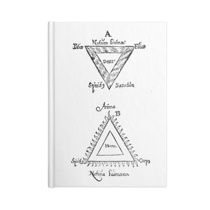 Hermetica Moderna - Trifolium Hermeticum Accessories Blank Journal Notebook by lostsigil's Artist Shop