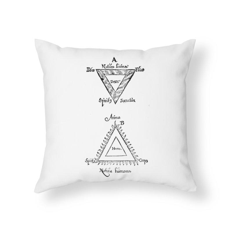Hermetica Moderna - Trifolium Hermeticum Home Throw Pillow by lostsigil's Artist Shop