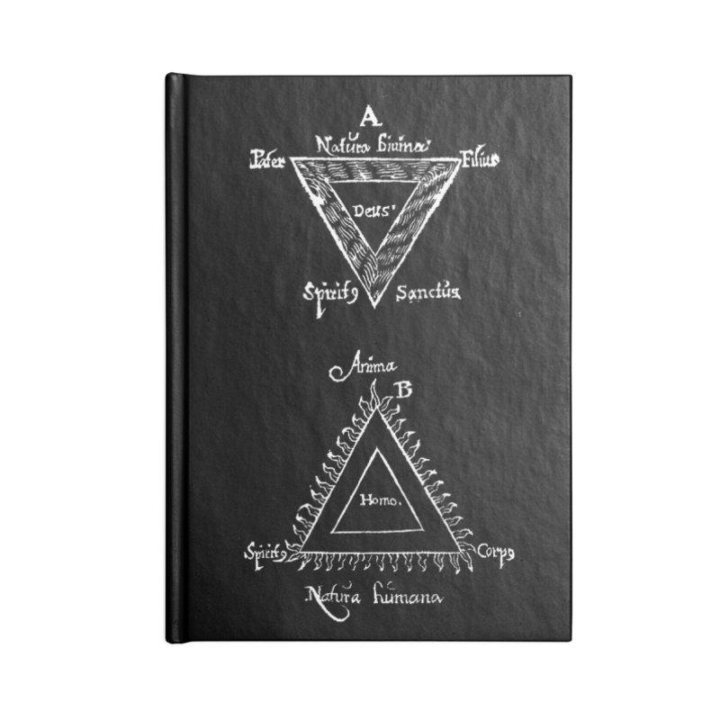 Hermetica Moderna - Trifolium Hermeticum Dark Accessories Blank Journal Notebook by lostsigil's Artist Shop