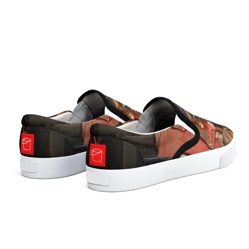 Vivid Retro - Pure Hapiness Women's Shoes by lostsigil's Artist Shop