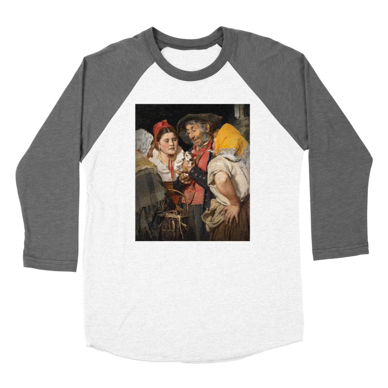 Vivid Retro - Pure Hapiness Women's Baseball Triblend Longsleeve T-Shirt by lostsigil's Artist Shop