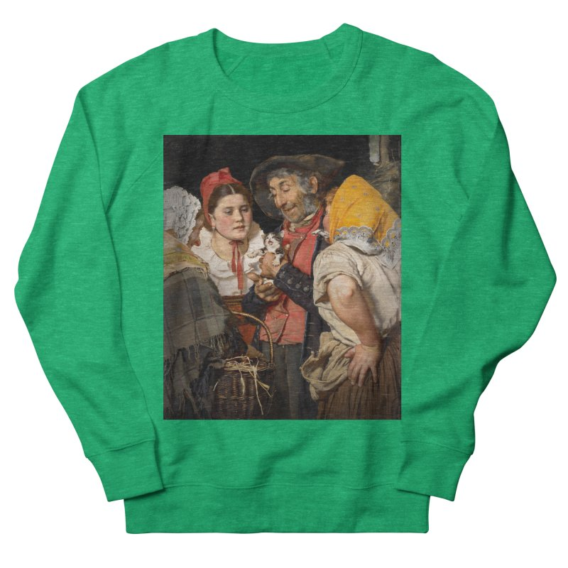Vivid Retro - Pure Hapiness Men's French Terry Sweatshirt by lostsigil's Artist Shop