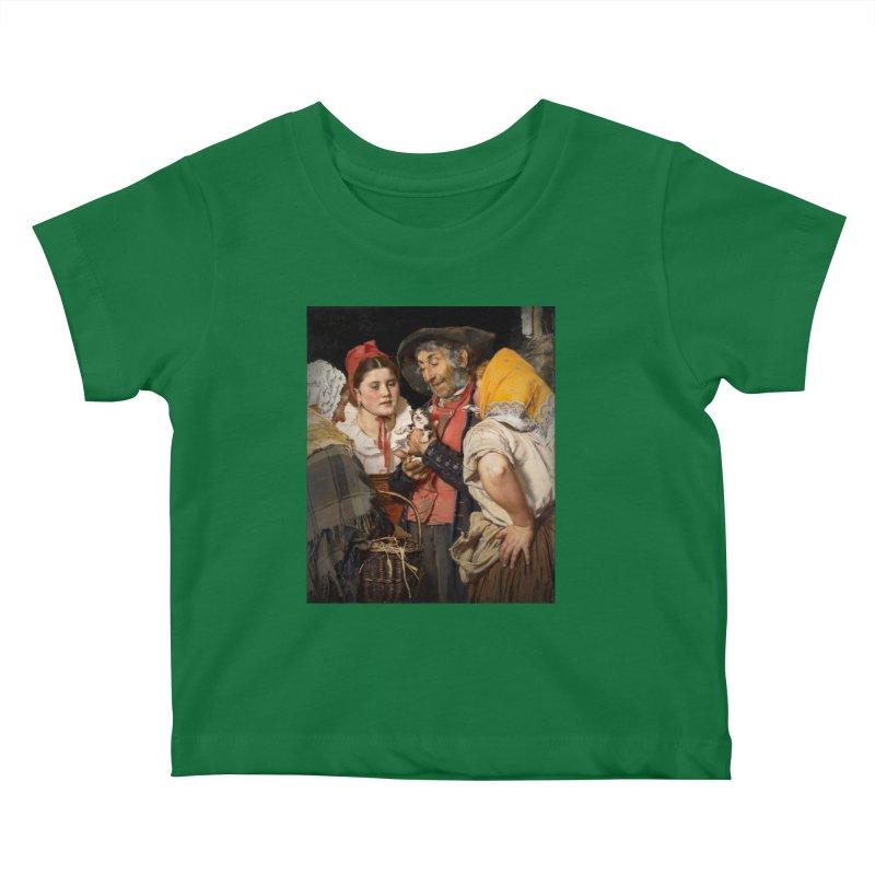 Vivid Retro - Pure Hapiness Kids Baby T-Shirt by lostsigil's Artist Shop