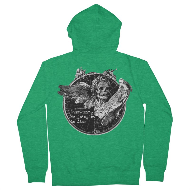 Of Things Long Past - In the End Men's Zip-Up Hoody by lostsigil's Artist Shop