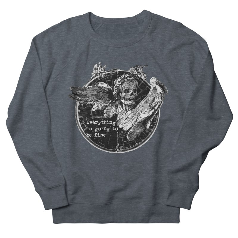 Of Things Long Past - In the End Men's French Terry Sweatshirt by lostsigil's Artist Shop
