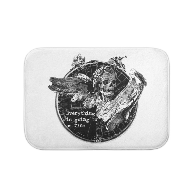 Of Things Long Past - In the End Home Bath Mat by lostsigil's Artist Shop