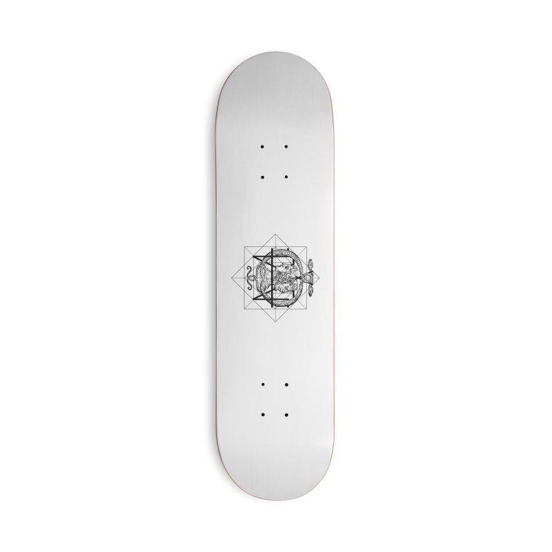 Hermetica Moderna - The Sight of Janus Accessories Skateboard by lostsigil's Artist Shop
