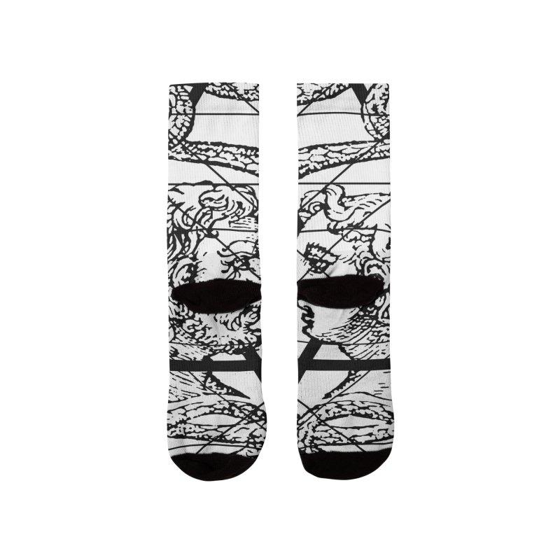 Hermetica Moderna - The Sight of Janus Men's Socks by lostsigil's Artist Shop