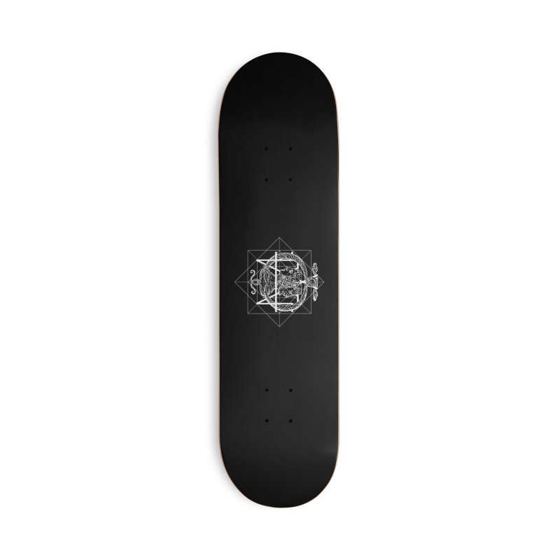 Hermetica Moderna - The Sight of Janus white Accessories Skateboard by lostsigil's Artist Shop