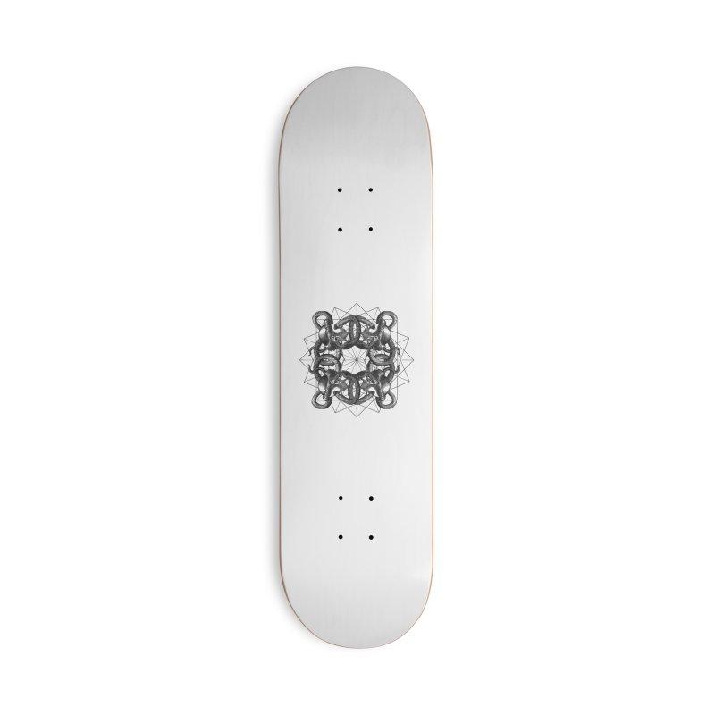 Hermetica Moderna - Medusa Intertwined Accessories Skateboard by lostsigil's Artist Shop