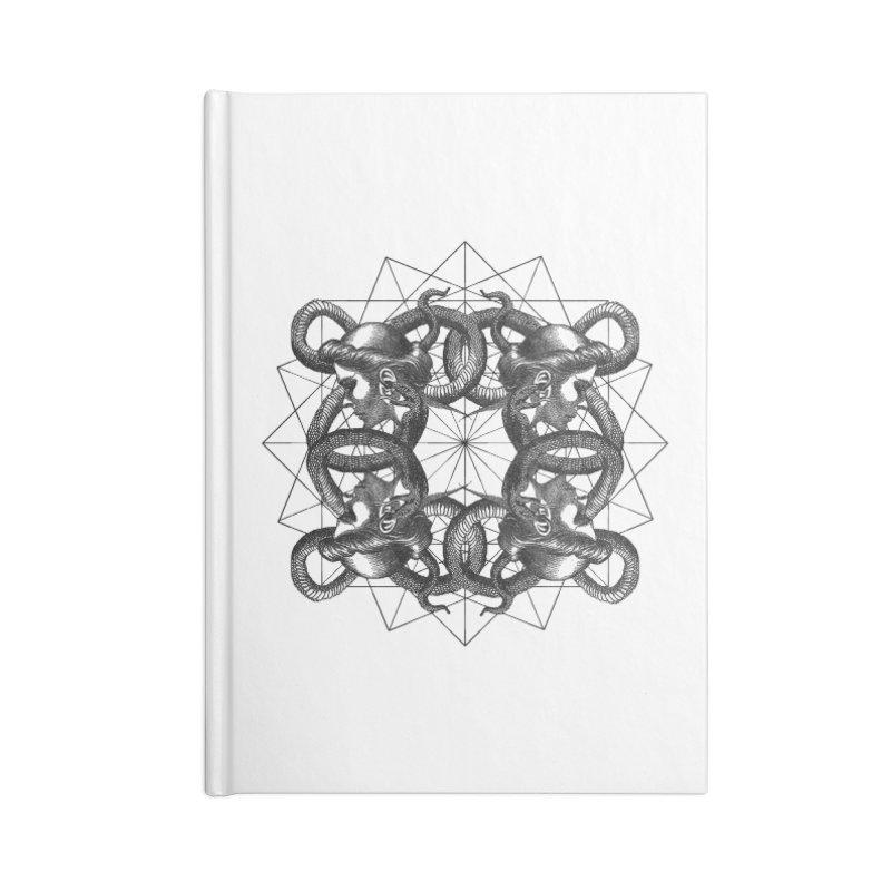 Hermetica Moderna - Medusa Intertwined Accessories Notebook by lostsigil's Artist Shop