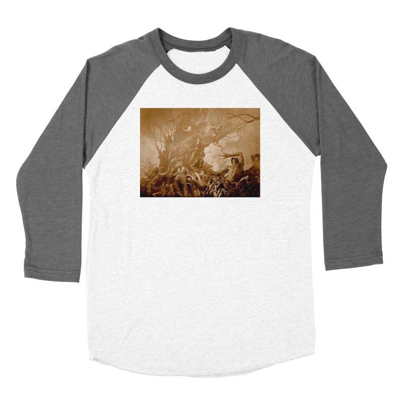 Vivid Retro - Return to Dante's Inferno 1 Women's Longsleeve T-Shirt by lostsigil's Artist Shop
