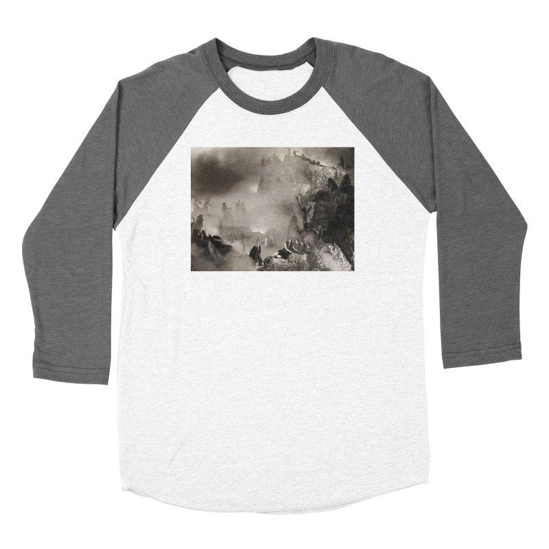 Vivid Retro - Return to Dante's Inferno 3 Women's Longsleeve T-Shirt by lostsigil's Artist Shop