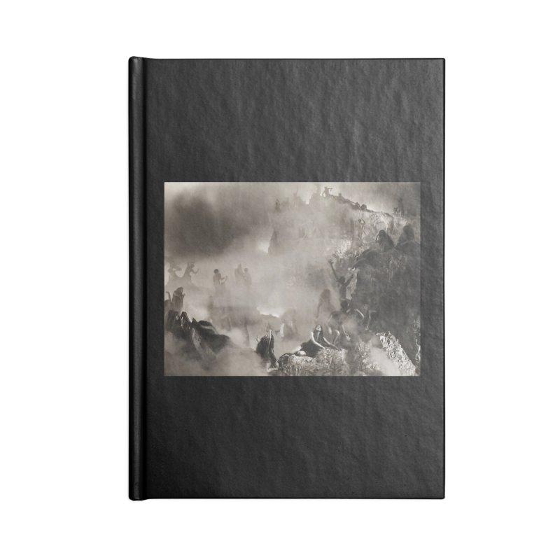 Vivid Retro - Return to Dante's Inferno 3 Accessories Notebook by lostsigil's Artist Shop