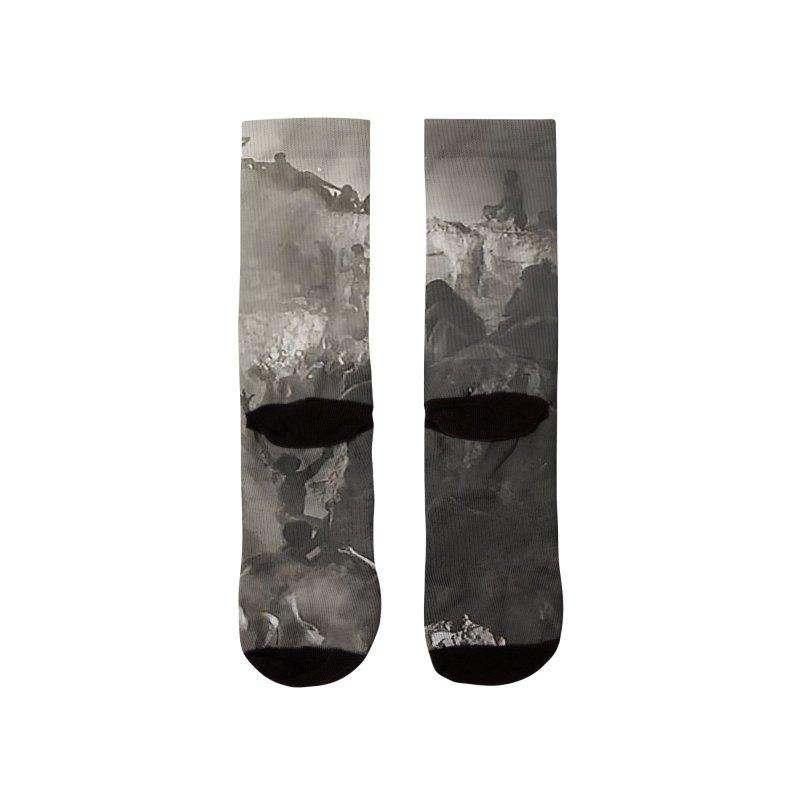 Vivid Retro - Return to Dante's Inferno 3 Men's Socks by lostsigil's Artist Shop