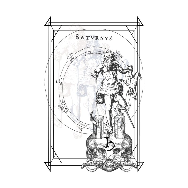 Hermetica Moderna - Satvrnvs Accessories Notebook by lostsigil's Artist Shop