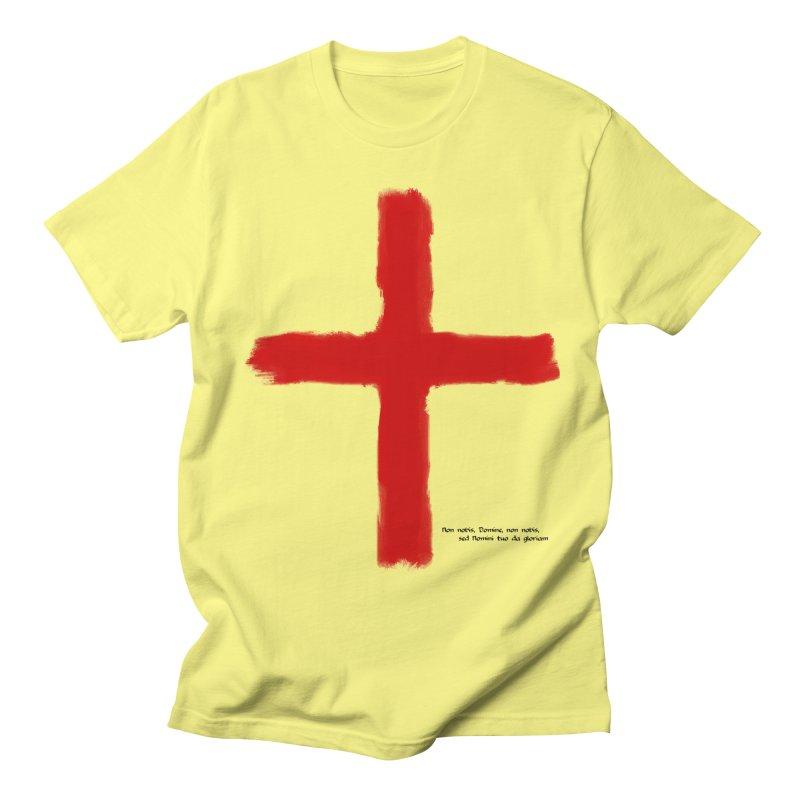 The Crusades - Temple Knights Men's T-Shirt by lostsigil's Artist Shop