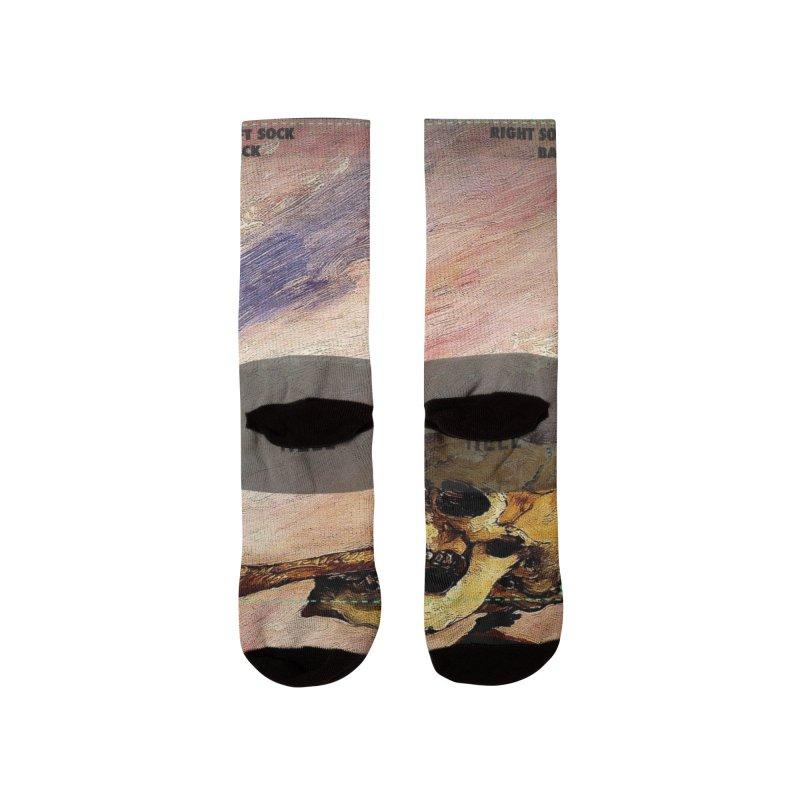 Vivid Retro - Fight over a herring Men's Socks by lostsigil's Artist Shop