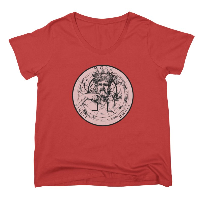 Of Things Long Past - Mors Vincit Omnia I Women's Scoop Neck by lostsigil's Artist Shop