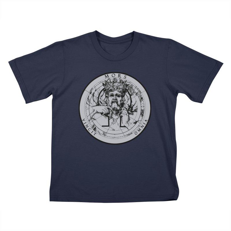 Of Things Long Past - Mors Vincit Omnia I Kids T-Shirt by lostsigil's Artist Shop