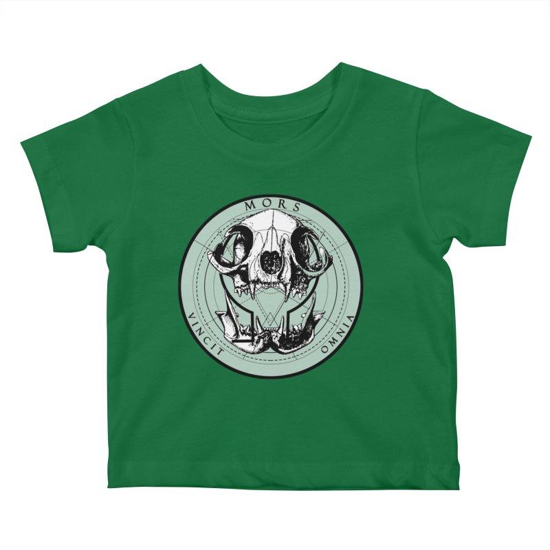 Of Things Long Past - Mors Vincit Omnia II Kids Baby T-Shirt by lostsigil's Artist Shop