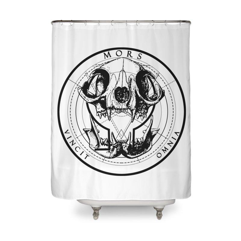 Of Things Long Past - Mors Vincit Omnia II Home Shower Curtain by lostsigil's Artist Shop