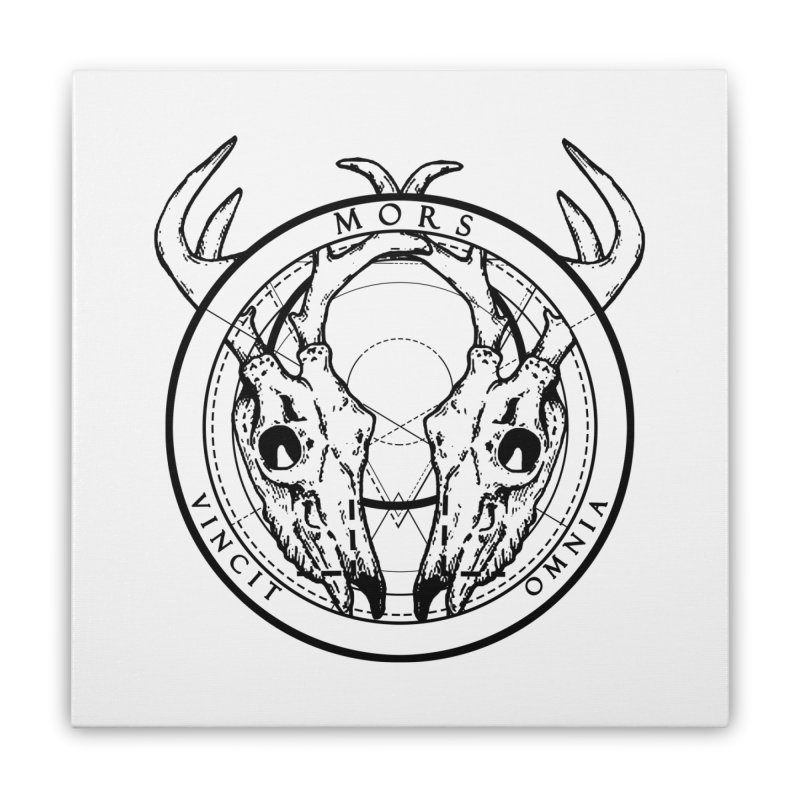 Of Things Long Past - Mors Vincit Omnia III Home Stretched Canvas by lostsigil's Artist Shop
