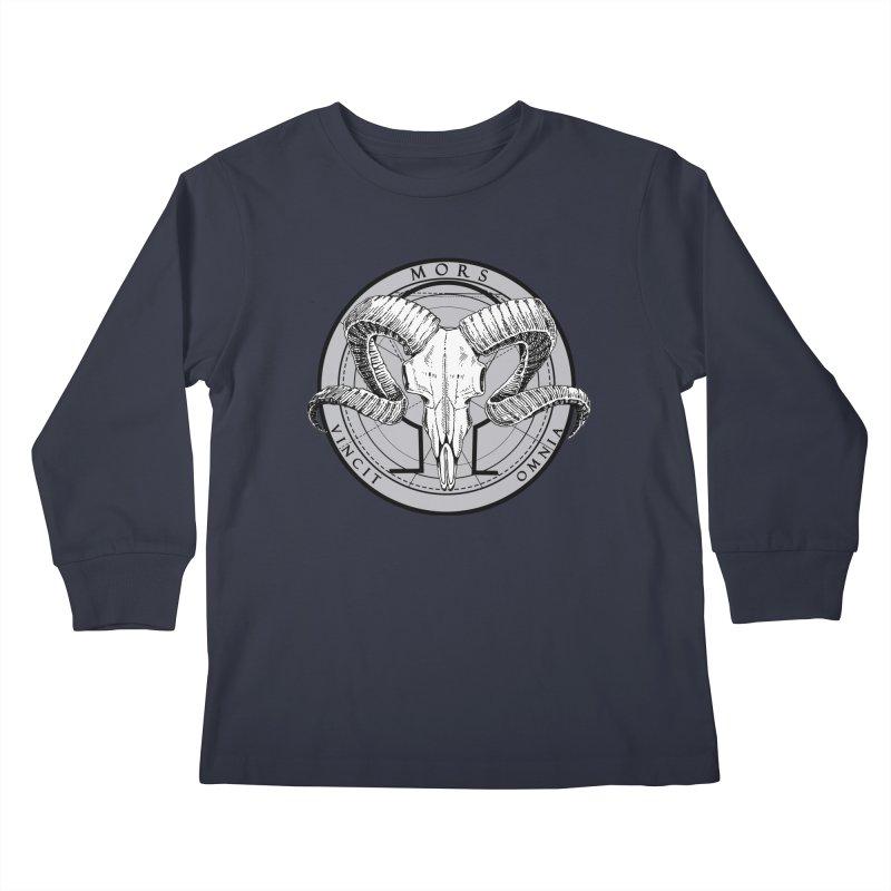 Of Things Long Past - Mors Vincit Omnia IV Kids Longsleeve T-Shirt by lostsigil's Artist Shop