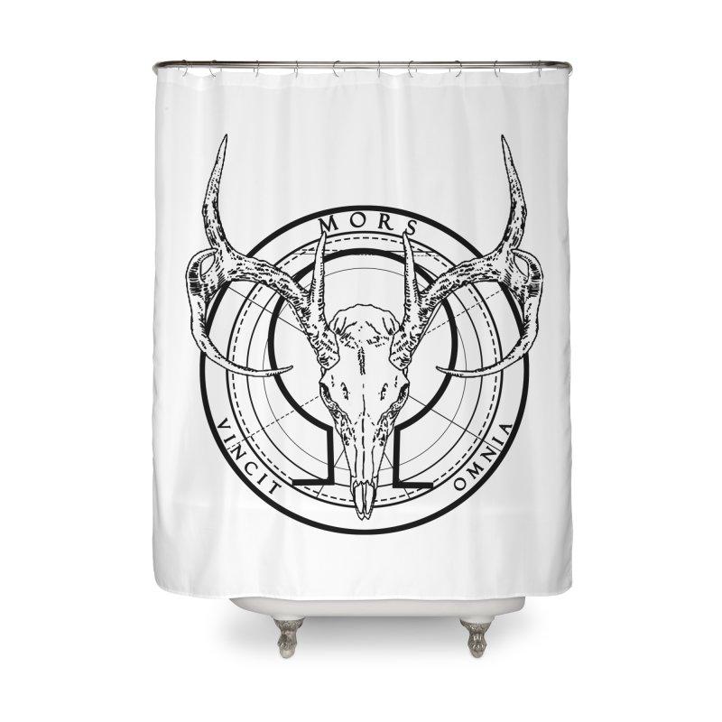 Of Things Long Past - Mors Vincit Omnia V Home Shower Curtain by lostsigil's Artist Shop