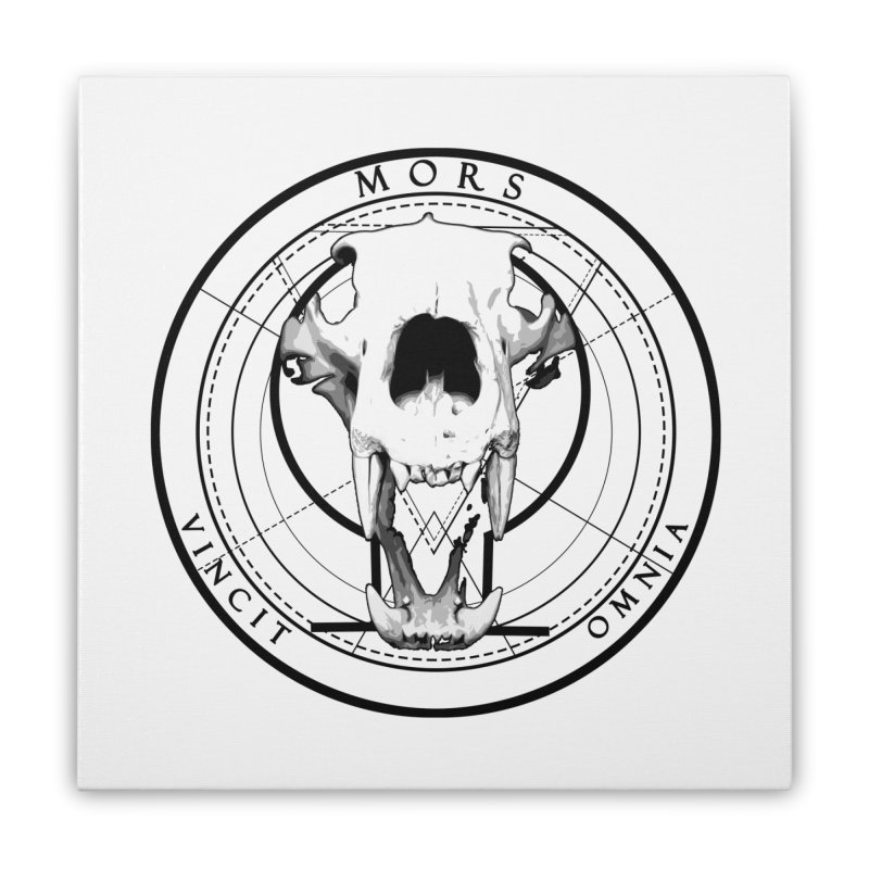Of Things Long Past - Mors Vincit Omnia VI Home Stretched Canvas by lostsigil's Artist Shop