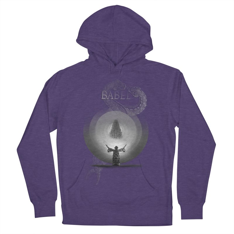Metropolis Babel v.1 Men's French Terry Pullover Hoody by lostsigil's Artist Shop
