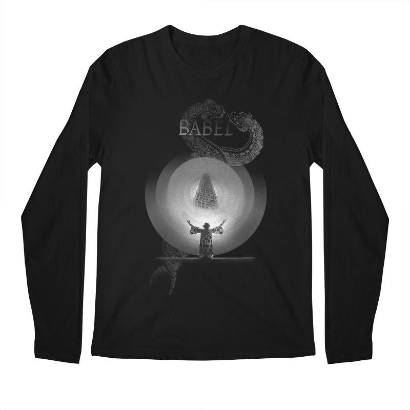 Metropolis Babel v.1 Men's Regular Longsleeve T-Shirt by lostsigil's Artist Shop
