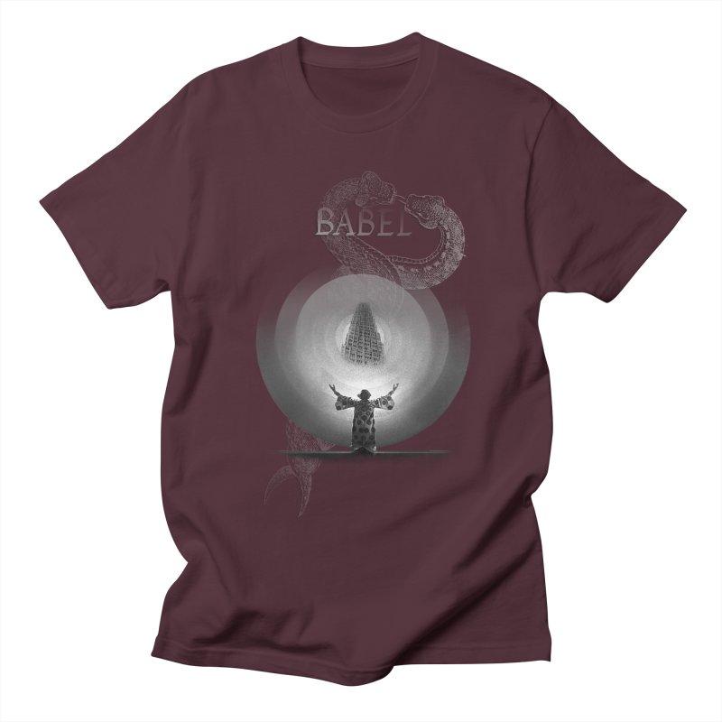 Metropolis Babel v.1 Men's Regular T-Shirt by lostsigil's Artist Shop