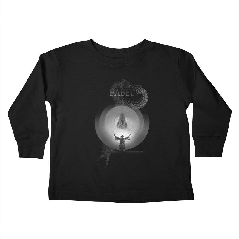 Metropolis Babel v.1 Kids Toddler Longsleeve T-Shirt by lostsigil's Artist Shop