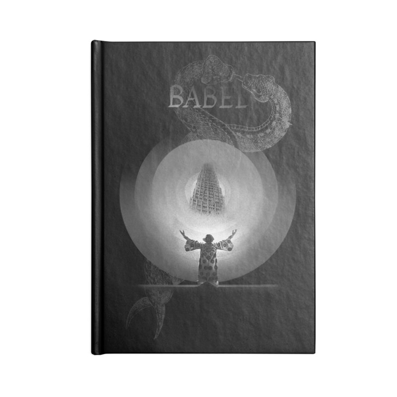Metropolis Babel v.1 Accessories Notebook by lostsigil's Artist Shop