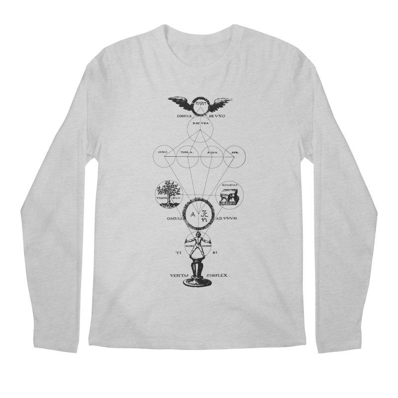 The Origins of Alchemy Men's Regular Longsleeve T-Shirt by lostsigil's Artist Shop