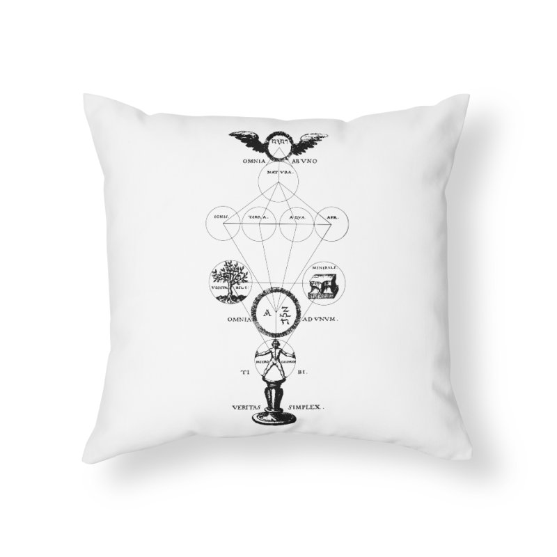 The Origins of Alchemy Home Throw Pillow by lostsigil's Artist Shop