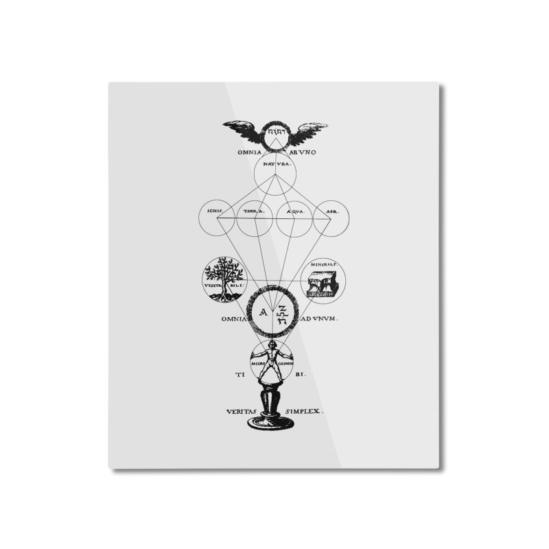 The Origins of Alchemy Home Mounted Aluminum Print by lostsigil's Artist Shop