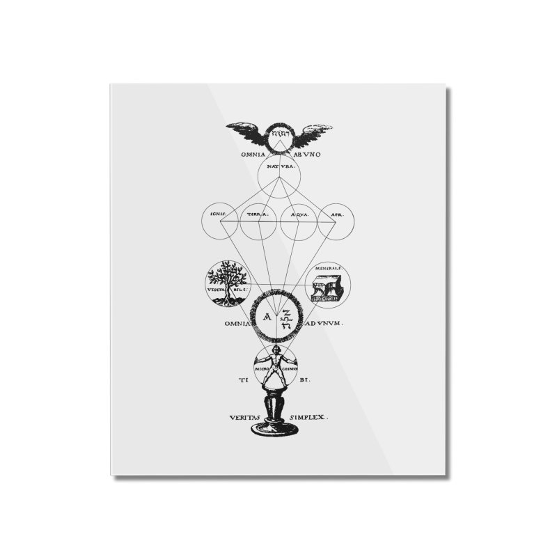 The Origins of Alchemy Home Mounted Acrylic Print by lostsigil's Artist Shop