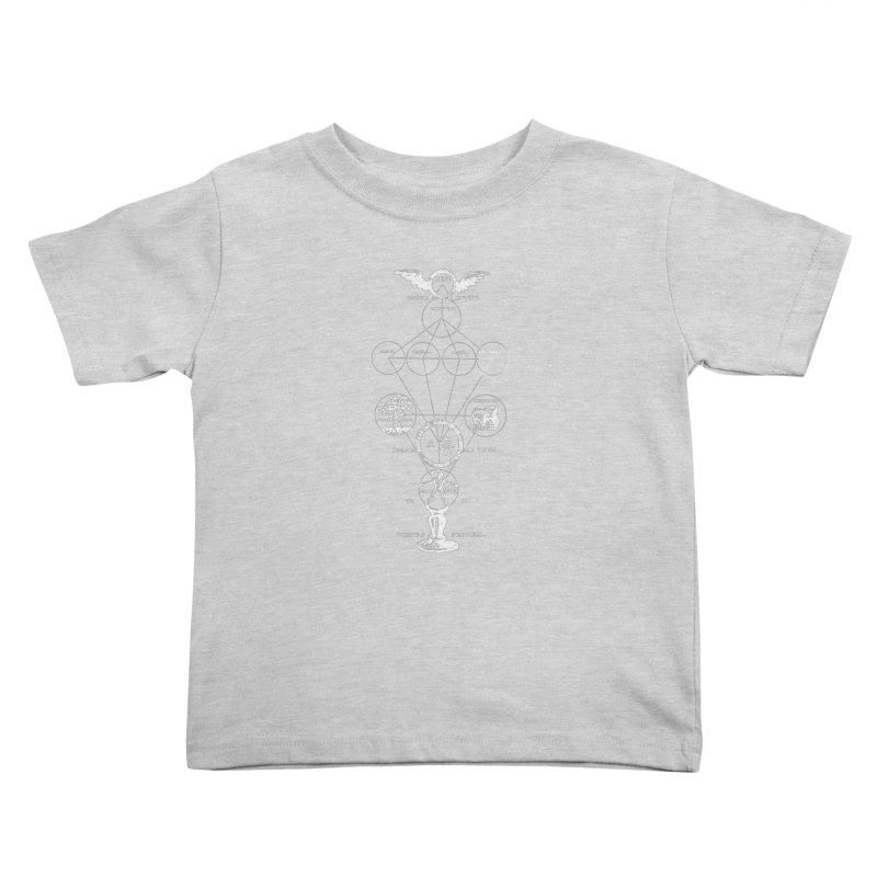 The Origins of Alchemy (white) Kids Toddler T-Shirt by lostsigil's Artist Shop