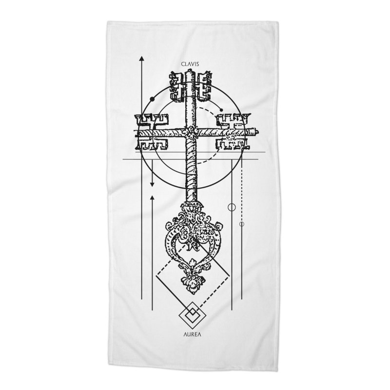 The Key to Nowhere vol. 1 Accessories Beach Towel by lostsigil's Artist Shop