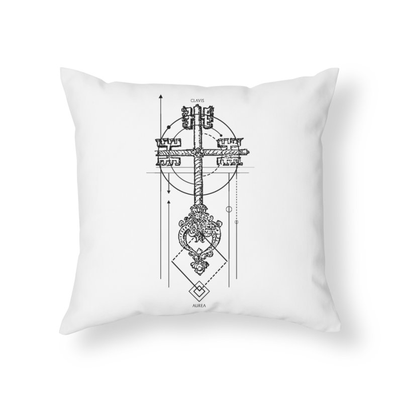 The Key to Nowhere vol. 1 Home Throw Pillow by lostsigil's Artist Shop