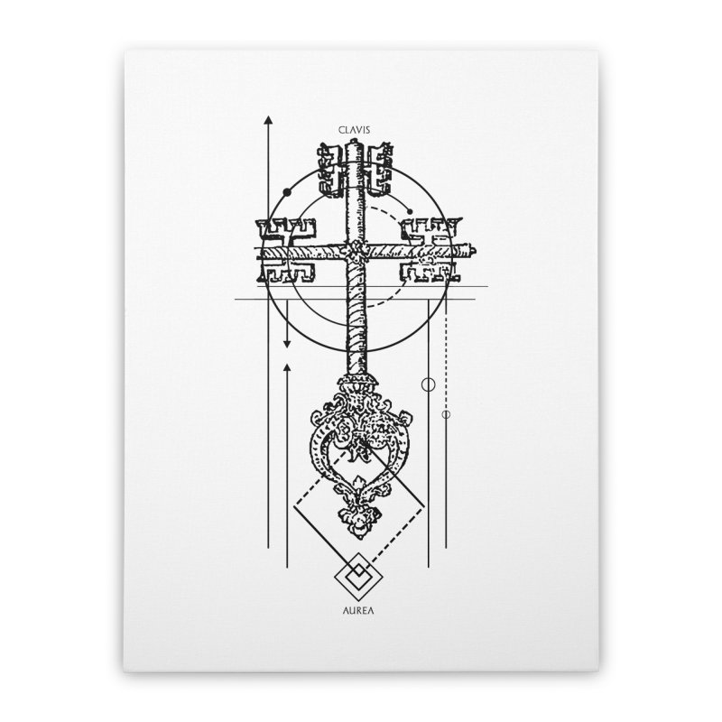 The Key to Nowhere vol. 1 Home Stretched Canvas by lostsigil's Artist Shop