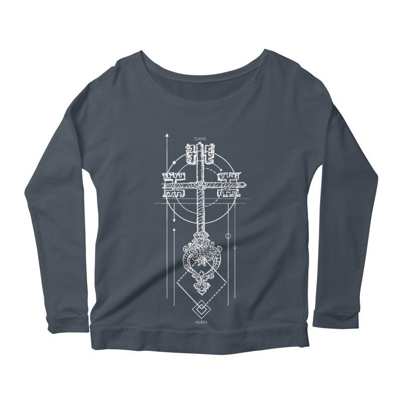 The Key to Nowhere vol. 1 dark Women's Scoop Neck Longsleeve T-Shirt by lostsigil's Artist Shop