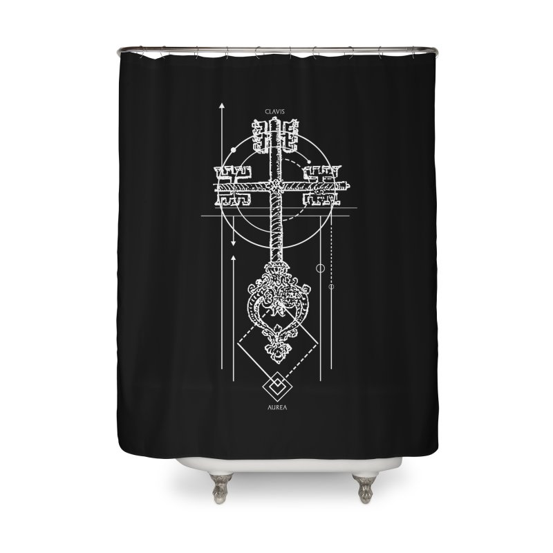 The Key to Nowhere vol. 1 dark Home Shower Curtain by lostsigil's Artist Shop