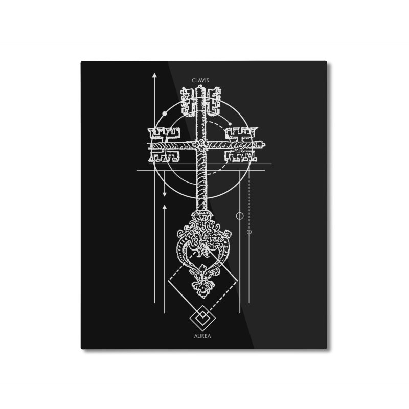 The Key to Nowhere vol. 1 dark Home Mounted Aluminum Print by lostsigil's Artist Shop