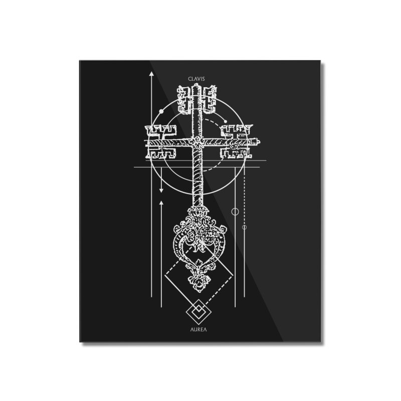The Key to Nowhere vol. 1 dark Home Mounted Acrylic Print by lostsigil's Artist Shop