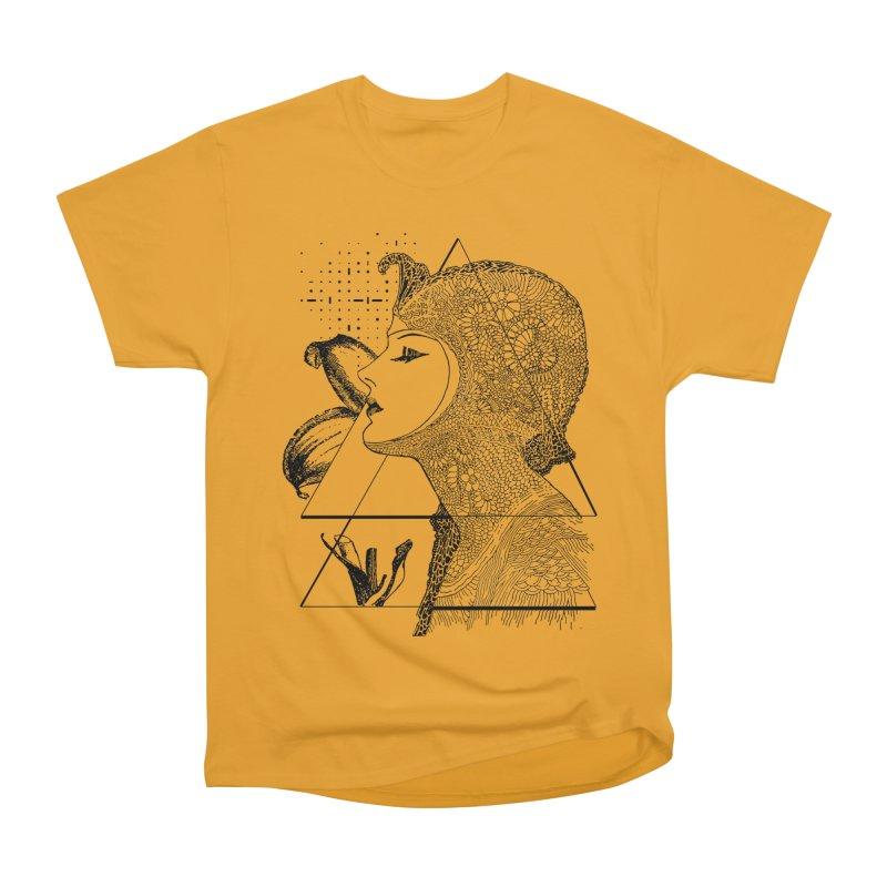 Art Nouveau - the Flower Men's Heavyweight T-Shirt by lostsigil's Artist Shop