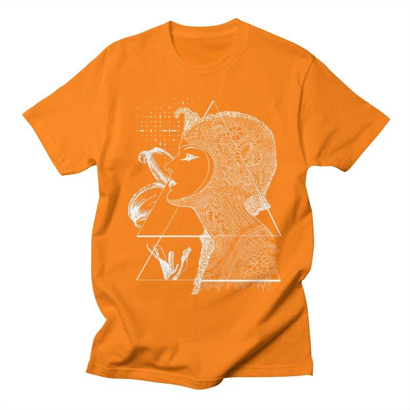 Art Nouveau -the Flower dark Women's Regular Unisex T-Shirt by lostsigil's Artist Shop