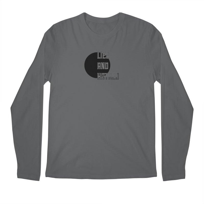 Lies and Hatred v1 Men's Regular Longsleeve T-Shirt by lostsigil's Artist Shop